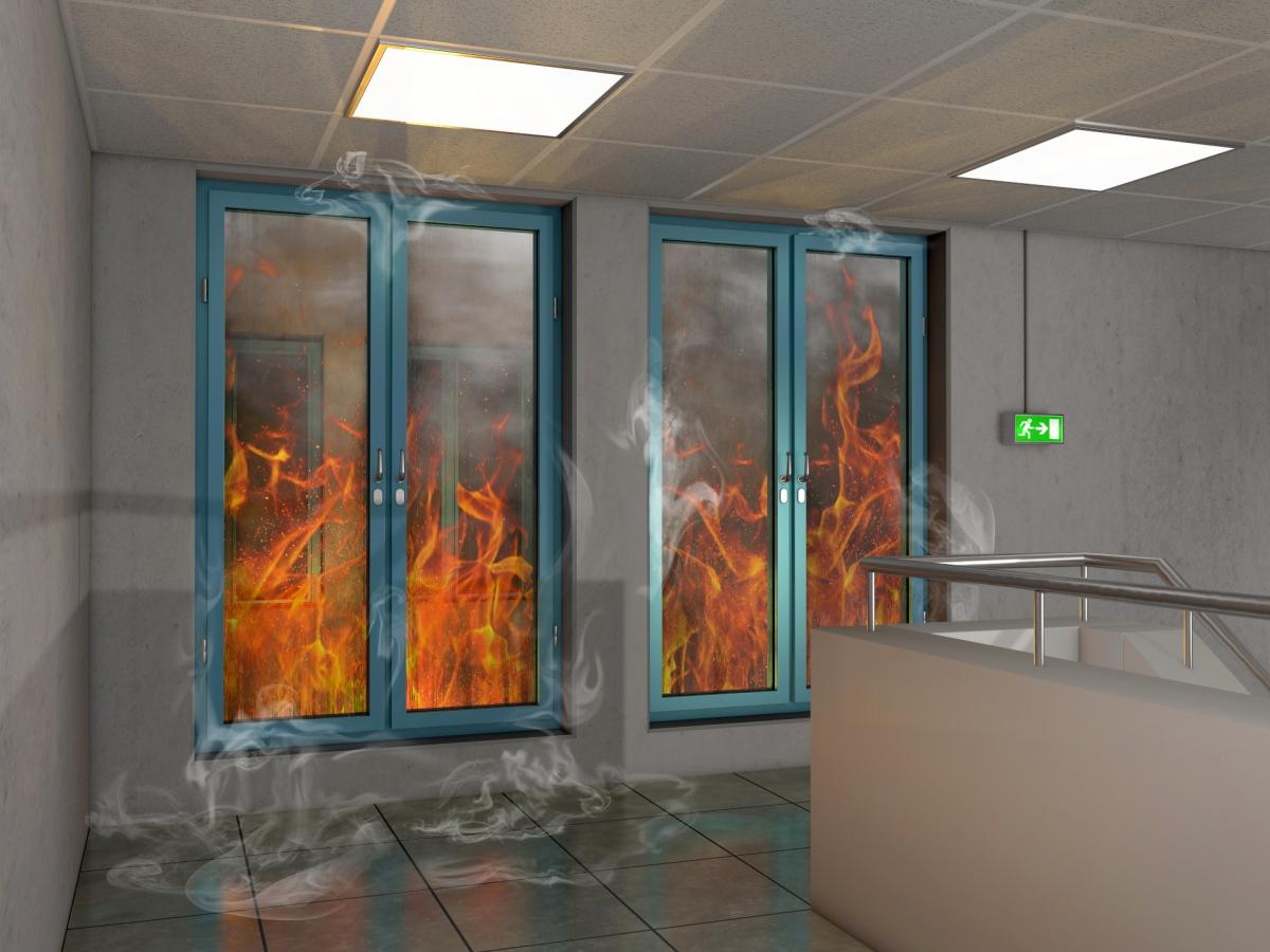 Szkło ogniochronne